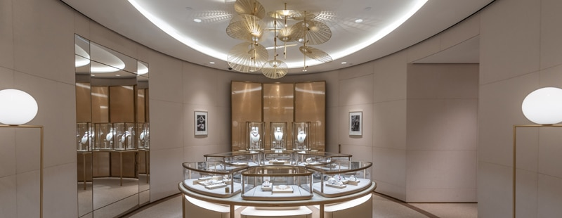 Cartier Peking Road Boutique - High Jewellery Salon