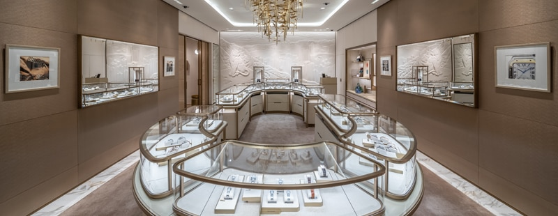 Cartier Peking Road Boutique - Interior