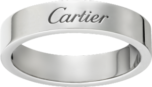 C de Cartier wedding ring