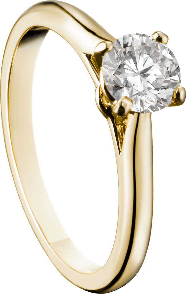 Solitaire 1895Yellow gold, diamond