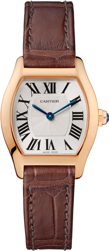Tortue watchSmall model, rose gold