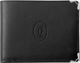 Must de Cartier Small Leather Goods, 6-credit card wallet