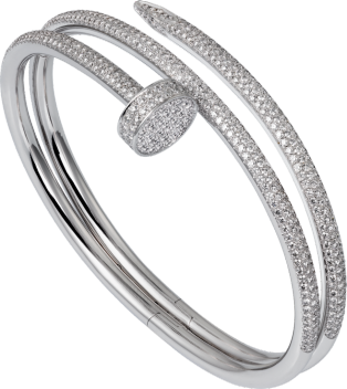 Juste un Clou bracelet White gold, diamonds